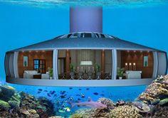 Architecten maken woning onder water
