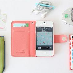 iphone case+card clutch