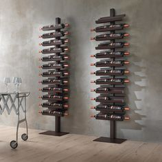 Dioniso Basic! wine rack by Siderio | LOVEThESIGN