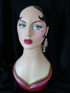 Painted Mannequin #3 by ♥Marina♥, via Flickr