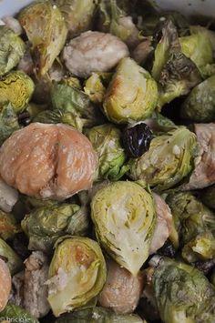 Recipe: Brussels sprouts and chestnuts / Ricetta: cavolini di Bruxelles e castagne — the Netherlands