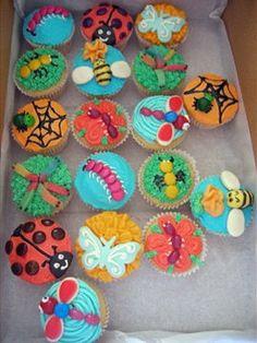 Bug Party At Preschool Cupcake Ideas Pinterest Birthdays - Bug cupcake decorating ideas
