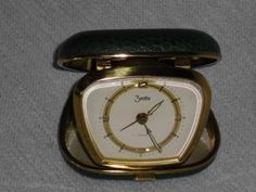 Mechanischer Reisewecker Taschenwecker ZentRa travel alarm clock 60er