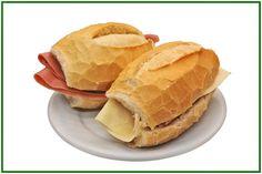 sanduiche de presunto e sanduiche de mussarela/queijo - Google Search