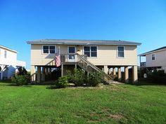 Ocean Isle Beach House Rentals: 79W1- Oceanfront Cottage rental