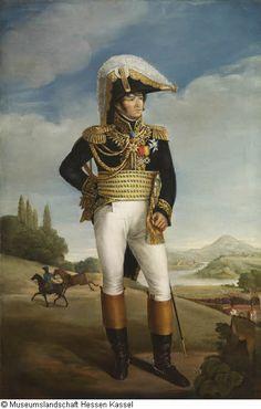 by Antoine-Jean Gros, 1806 - 1808. Jean-Pierre Samoyault (Musée de Fontainebleau) bezweifelt auf Grund physiognomischer Widersprüche die Authentizität des Dargestellten, seiner Meinung nach handelt es sich um eine andere Persönlichkeit aus den Reihen der napoleonischen Generäle.