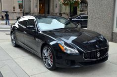 The 2016 Maserati Quattroporte is the featured model. The 2016 Maserati Quattroporte GTS image is added in the car pictures category by the author on Aug Cool Sports Cars, Sport Cars, Maserati Quattroporte Gts, Maserati Ghibli, Top Luxury Cars, Custom Cars, Cars For Sale, Dream Cars, Automobile
