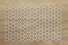 Background honeycomb made from mm a white chipboard. 14 cm x 20 cm Price Embossing Powder, Chipboard, Honeycomb, App, Canning, Decor, Decoration, Decorating, Apps