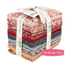 Rue Indienne Fat Eighth Bundle<BR>French General for Moda Fabrics