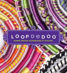 Loopdedoo Friendship Bracelet Spinning Tool by Ann Williams LoopDeDoo Loop-de-doo Loopdedoo Loop de doo Loopdeloo Bracelet Maker