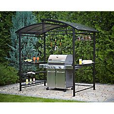 Mainstays Grill Gazebo 8u0027 x 4u0027 - Walmart.com DIY | Flea Market Selling | Pinterest | Backyard Patios and Porch  sc 1 st  Pinterest & Mainstays Grill Gazebo 8u0027 x 4u0027 - Walmart.com DIY | Flea Market ...