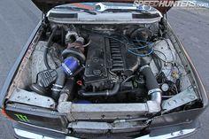 Diesel Fury: The Black Smoke Wagon - Speedhunters Mercedes Benz Diesel, Mercedes Benz Cars, M Benz, Mercedez Benz, Classic Mercedes, Drifting Cars, Black Smoke, Pickup Trucks, Race Cars