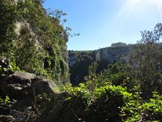 View from the other side of the Cave, Cava d'Ispica - SICILY