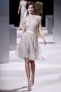 Elie Saab Spring 2011 Couture Fashion Show - Magdalena Frackowiak