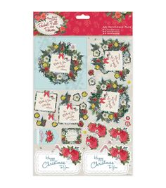 Papermania Pocket Full Of Posies A4 Decoupage Pack - For You