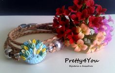 Pulseira em Polymer Clay - Pretty4You Bijuteria.