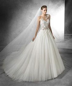 Taciana, robe de mariée originale, pierres fines
