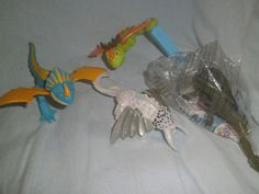 How to Train your Dragon 2 - 4 Character Dragons - McDonalds - New & Sealed Dragon 2, How To Train Your Dragon, Mcdonalds, Seal, Amp, Toys, Character, Activity Toys, Httyd