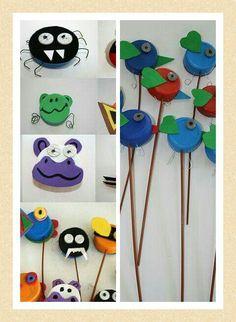 Ideas para hacer con tapones plásticos.