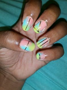 Popsicle nails
