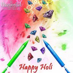 #HazoorilalBySandeepNarang wishes all our customers and followers a very Happy Holi . #HazoorilalCelebrates #Diamonds #Jewellery #HappyHoli #Colors #Hazoorilal