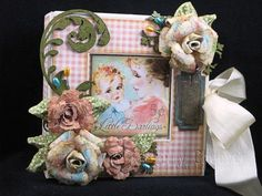 By: Sherry Cheever  Flowers were created using the Bitty Blossoms and Grand Peony Creations.