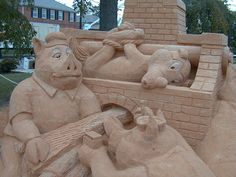 My kind of sand sculpture!
