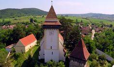 Biserica Fortificată Apold – Filmare Aeriană