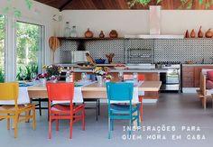 Todo charme de ter uma churrasqueira em casa. Veja como: http://www.casadevalentina.com.br/blog/materia/churrasqueiras-no-ap.html #decor #decoracao #interior #design #modern #moderno #churrasqueira #casadevalentina