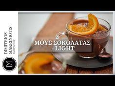 Light Μους Σοκολάτας με 3 Υλικά   Dimitriοs Makriniotis - YouTube
