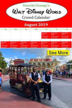 Our Disney World Crowd Calendar shows the best days to visit each Park during your vacation - Magic Kingdom, Epcot, Hollywood Studios, and Animal Kingdom. Disney Crowds, Disney Trips, Disney Parks, Disney World Resorts, Walt Disney World, Disney World Crowd Calendar, Hollywood Studios, Epcot, Magic Kingdom