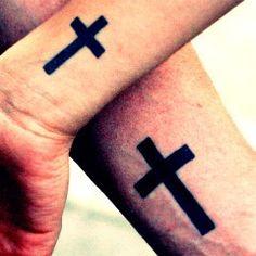 Christian Cross Tattoos For Men On Forearm