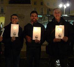 sacchetti portacandele personalizzati per il WWF ora della terra - Earth Hour