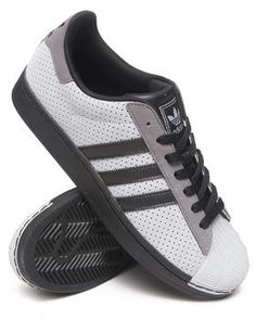 Adidas Superstar II (light grey / white / grey) 030238 $69.99 Adidas