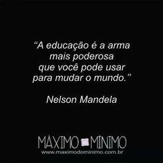Mandela. Educação.