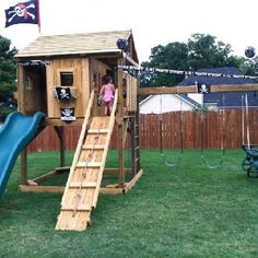 Pirate swing set
