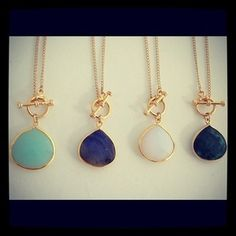 """Riggings"" Necklaces by Long Lost Jewelry"