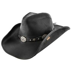 1449b2e86f0c3 Roxbury - Stetson Leather Western Hat - TRROXB