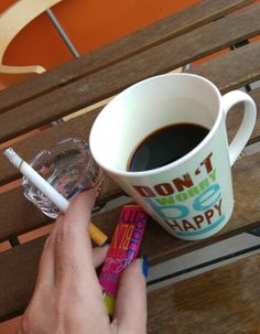 Coffee and Cigarette Coffee And Cigarettes, Tableware, Kaffee, Dinnerware, Tablewares, Dishes, Place Settings