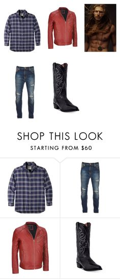 """Optimus's Farm outfit"" by angelwolf167 on Polyvore featuring Mountain Khakis, Nudie Jeans Co., Wilsons Leather, Dan Post, men's fashion and menswear"