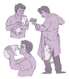 Dear Jeremy Carver, Please give Castiel a kitten this season. Sincerely, I just want Cas to be happy. some people on my dash were talking about Cas having a kitten and I just Supernatural Fanfiction, Supernatural Drawings, Supernatural Pictures, Supernatural Fan Art, Castiel, Sam Winchester, Superwholock, Cute Drawings, Sketches