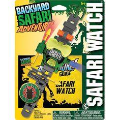 Backyard Safari Safari Watch by Poof-Slinky, Inc. - $18.95