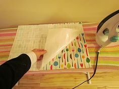 how to laminate fabric with vinyl product
