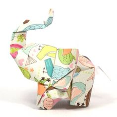 Origami éléphant