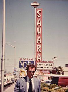 superseventies:  Clint Eastwood in Las Vegas during filming of 'The Gauntlet,'1977.