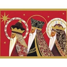 christmas cards of the three wise men | Three wise men (Pack of 10)