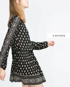 #zaradaily #tuesday #trf #dress #aw15