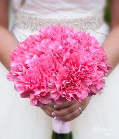 Simplistic Pink Carnation Bouquet