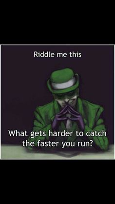 Lol Actually got it! Riddler Riddles, Mystery Riddles, Puzzles, Jokes And Riddles, Funny Riddles, Vsco, Mind Tricks, Lol, Frases