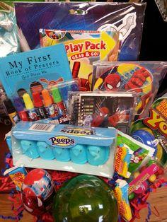 Spiderman easter basket easter crafts pinterest easter baskets spiderman easter basket negle Choice Image